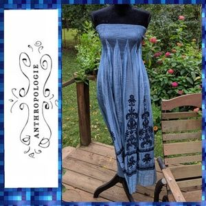 Anthropologie Lapis Maxi Dress